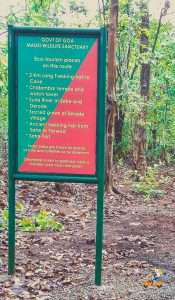 checkpost at Mhadei Wildlife sanctuary
