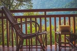 Kurumba Village resort by Nature Resorts balcony Tripjodi