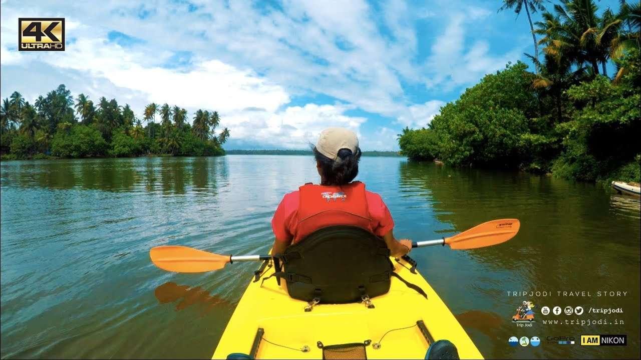 Kayaking in Kerala SYZYGY Ecosports Tripjodi