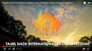 Tripjodi at  TN International Balloon Fest – Pollachi  | Indian Couple Travellers |