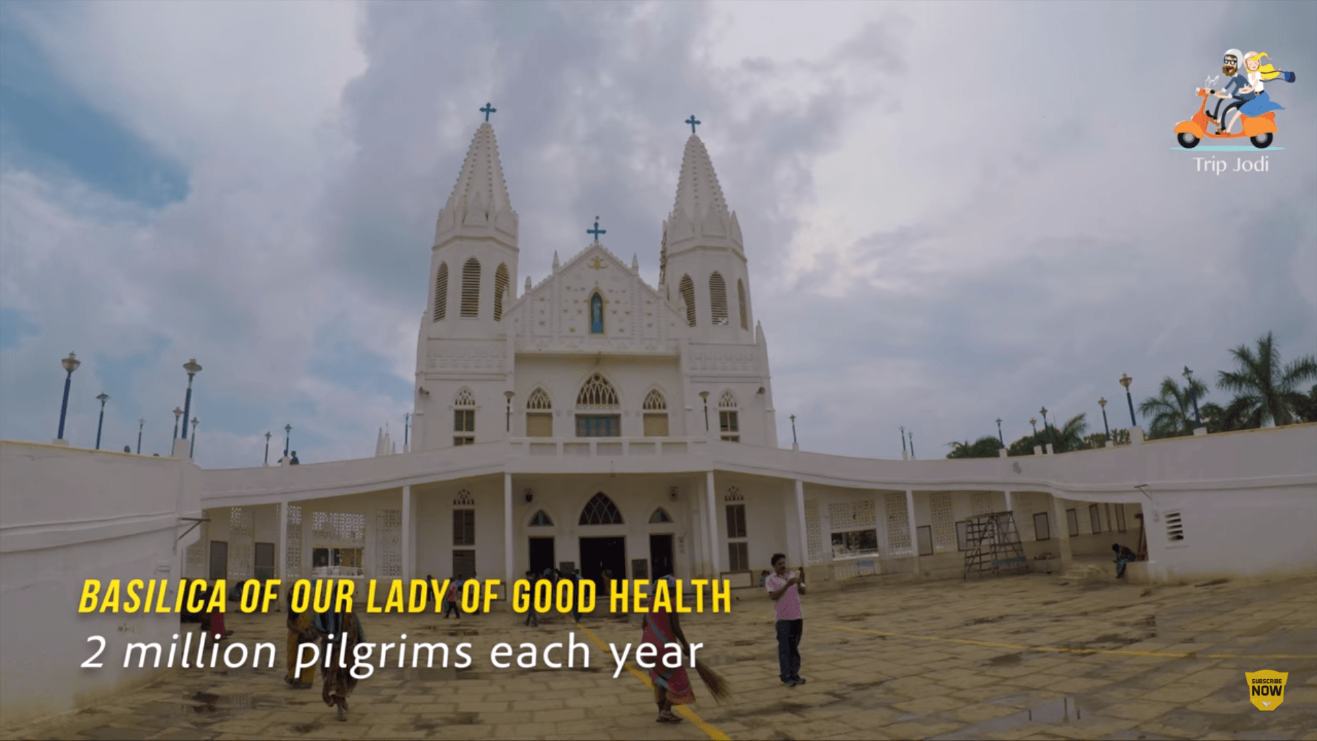 Our Lady of Good Health, Velankanni – TripJodi's Pilgrimage Video