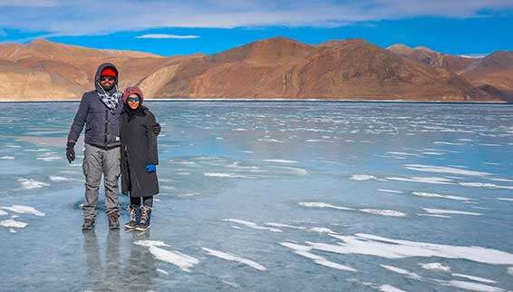 Pangong Tso Lake | Changla Pass in Winter – Kashmir, India